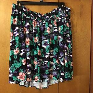 Hawaiian Print skirt